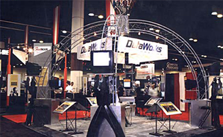 Dataworks Trade Show Exhibit