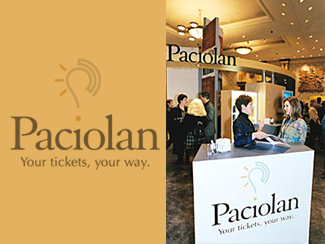 Paciolan Trade Show Exhibit